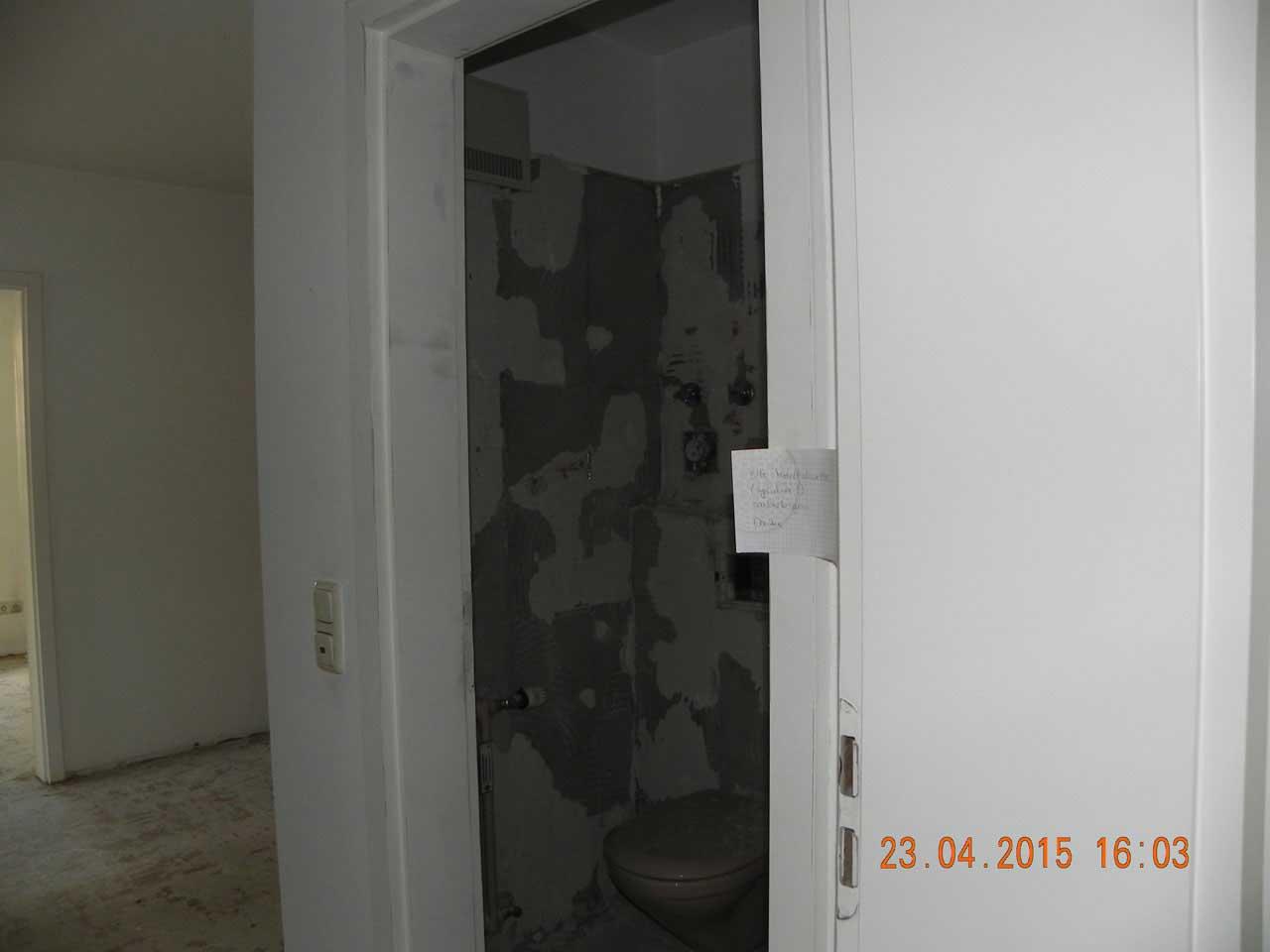 Gästebad - Umbau 03