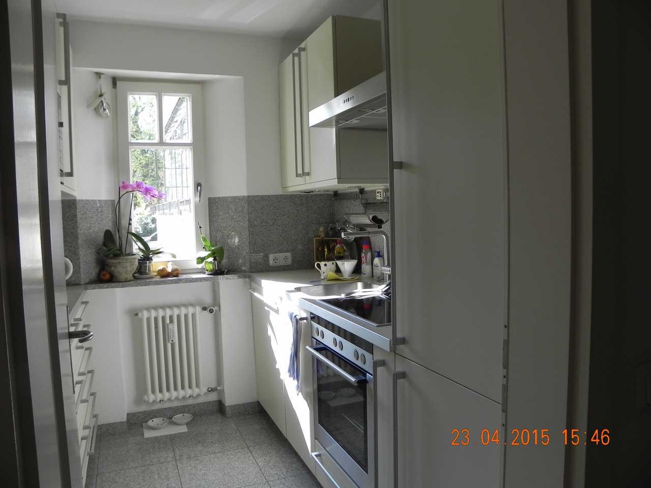 Küche & Kamin - Vorher 01 (voher Küche)