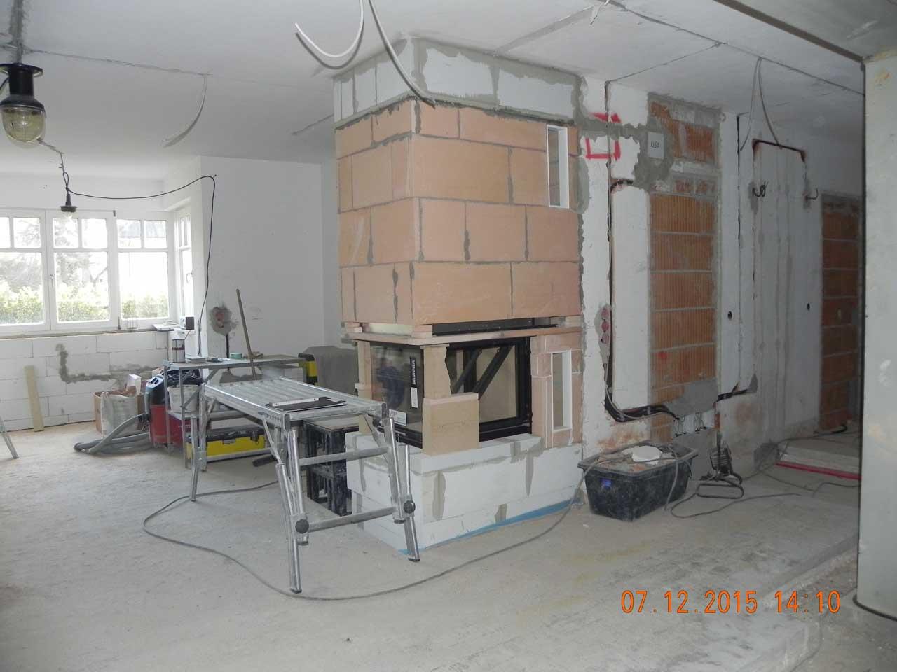 Küche & Kamin - Umbau 08