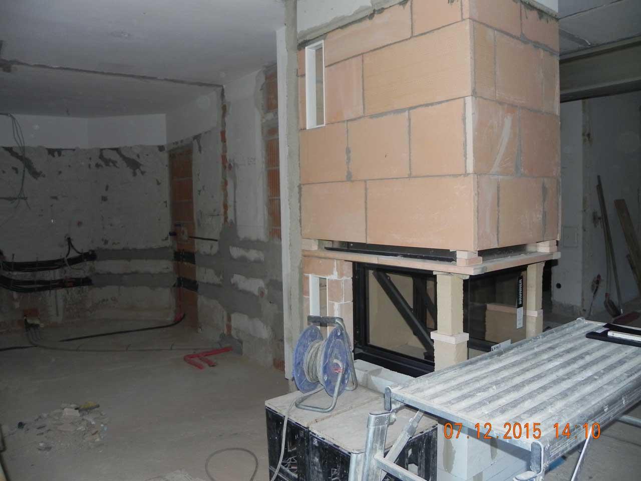 Küche & Kamin - Umbau 10