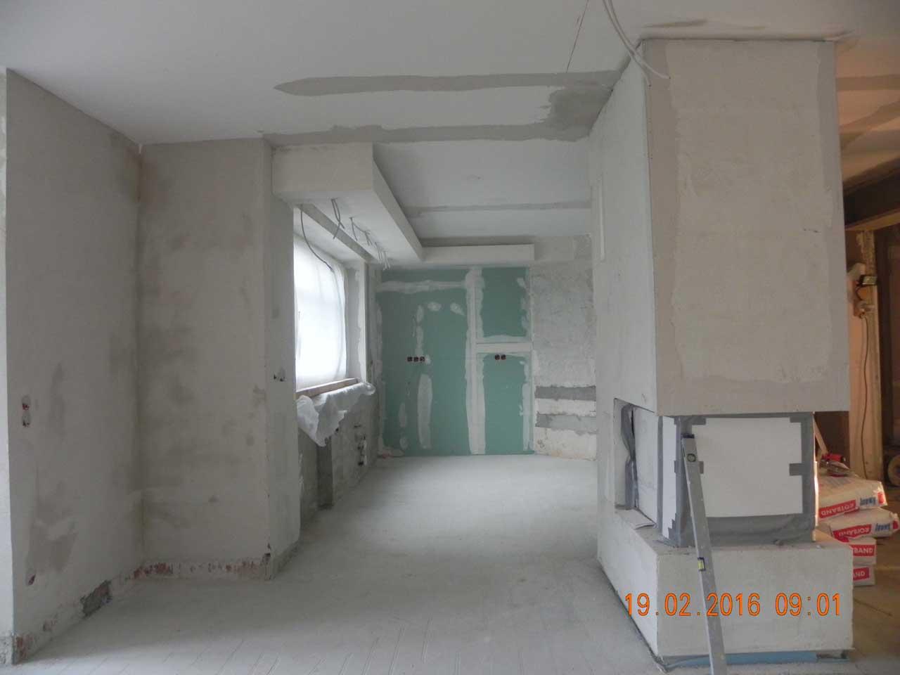 Küche & Kamin - Umbau 12