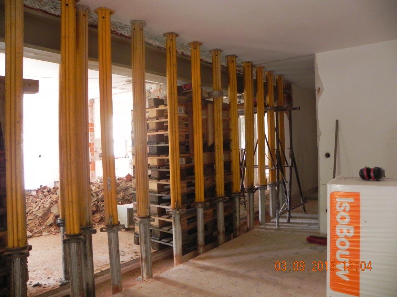 Wohnzimmer - Umbau 07