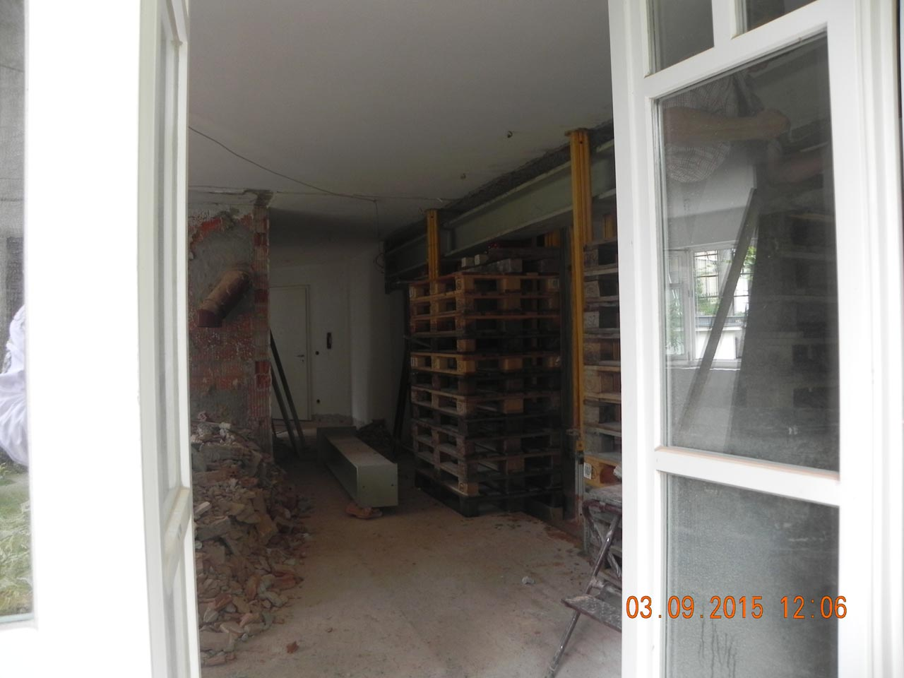 Wohnzimmer - Umbau 09