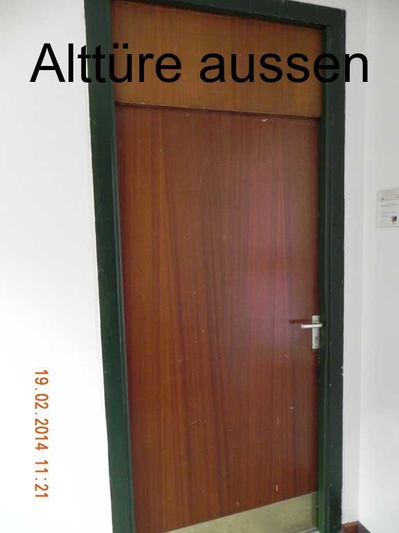 Türmontage - Alttüre, außen
