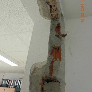 Türmontage - Mauerangleichungsarbeiten erforderlich