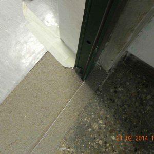 Türmontage - Bodenangleichungsarbeiten